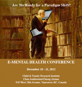 E-mental health 2012