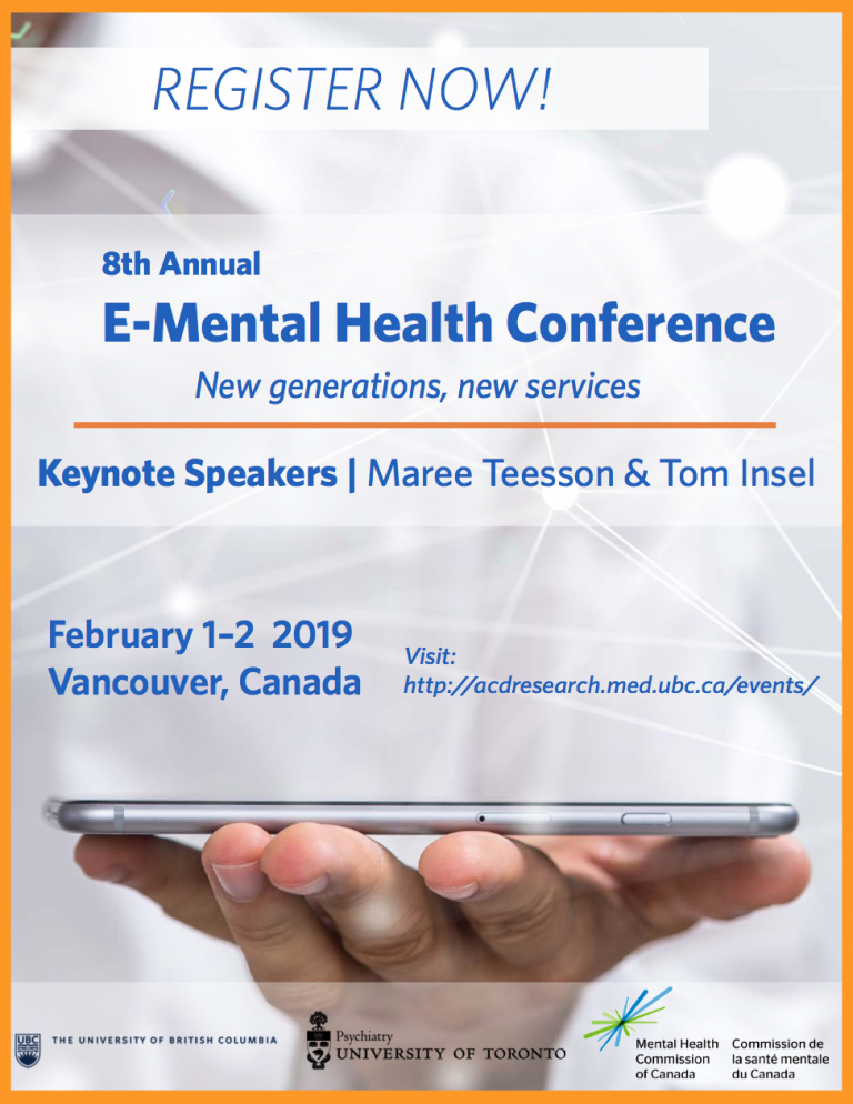 E-Mental Health Conference 2019 | Addictions and Concurrent